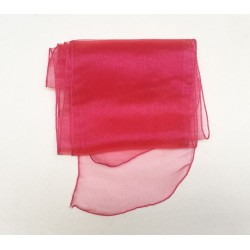 Hot Pink Organza Chair Bows - PACK of 10