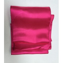Fuchsia Pink Satin Chair Bows - PACK of 10