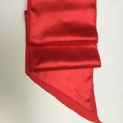 Red Satin Sash - PACK OF 10