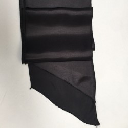 Black Satin Sash - PACK OF 10
