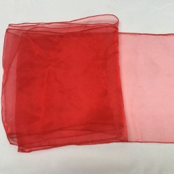 "Red Organza Table Runners (14""x108"")"