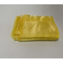 Yellow Organza Chair Bows - PACK of 10