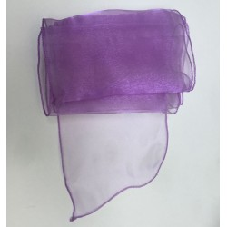 Lilac Organza Chair Bows - PACK of 10