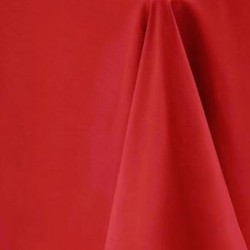"90""x90"" Red Polyester Table Cloths"