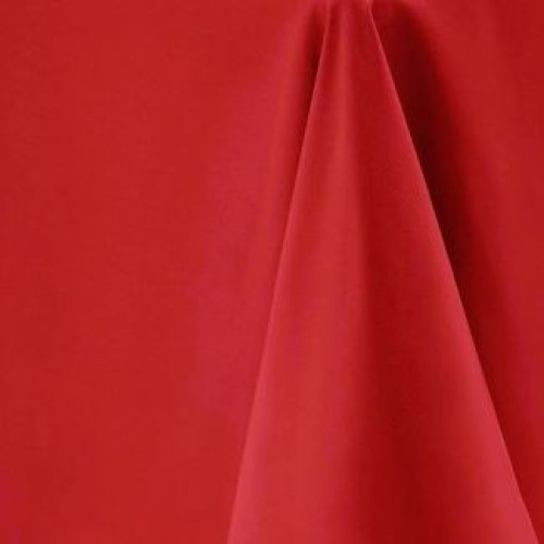 """90""""x90"""" Red Polyester Table Cloths"""