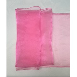 "Baby Pink Organza Table Runners (14""x108"")"