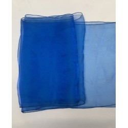 "Royal Blue Organza Table Runners (14""x108"")"