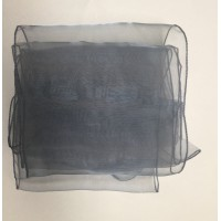 """Silver Organza Table Runners (14""""x108"""")"""