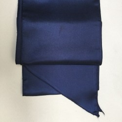 Navy Blue Satin Sash - PACK OF 10