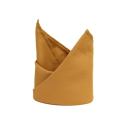 Gold Polyester Napkins - Pack of 10