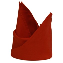 Red Polyester Napkins - Pack of 10