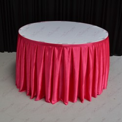4M Hot Pink Cake Table Skirt