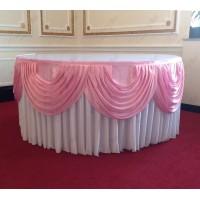White Cake Table Skirt Package