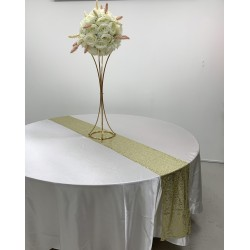 Gold Sequin Table Runners