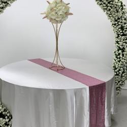 Pink Sequin Table Runners
