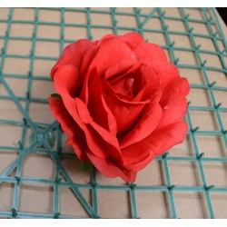 Red Rose Heads - Pack of 10