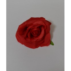 Red Small Rose Heads - Pack of 10