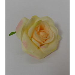 Green Small Rose Heads - Pack of 10