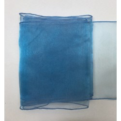 """Baby Blue Organza Table Runners (14""""x108"""")"""