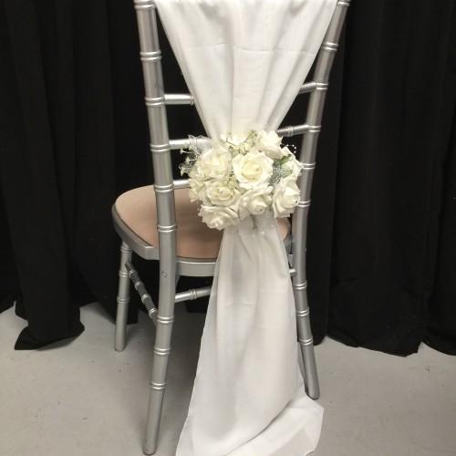 Chiffon Vertical Chair Bows - Sample