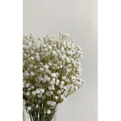 Artificial White Baby's Breath Gypsophila - Pack of 10