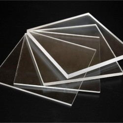 100cmx100cm Clear Acrylic Glass Panel