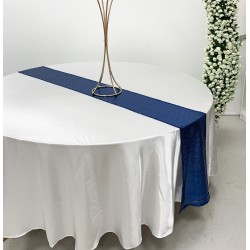 Royal Blue Sequin Table Runners