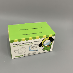 Disposable 3 Ply Face Masks for Kids - Box of 50