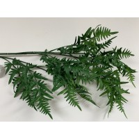 100cm Real Touch Hanging Fern Spray - Green