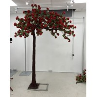 310cm Canopy Arch Rose Tree - RED