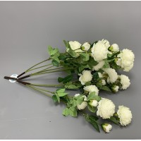 Artificial Rose Tree Spare Branch - Ivory