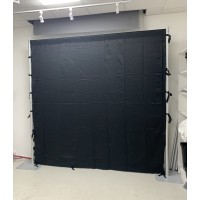 2400mmx2400mm Blackout Partitioning Drape Curtain