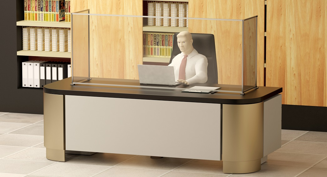 High Quality Office Table Hyienic Screen