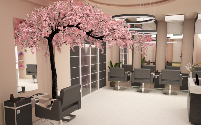 A Quality Artificial Blossom Trees Can Make a Difference in a Commercial Interior Decoration Spaces