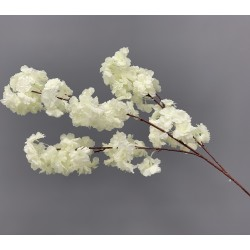 110cm Artificial Cherry Blossom Branch - IVORY