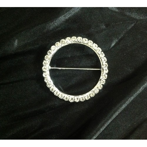 Silver Diamante Buckles for Lycra Bands