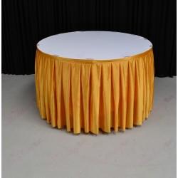4M Gold Table Skirt