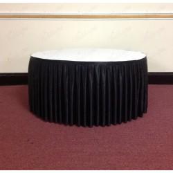 4M Black Cake Table Skirt
