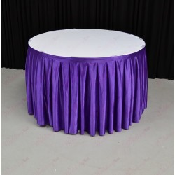 4M Purple Cake Table Skirt