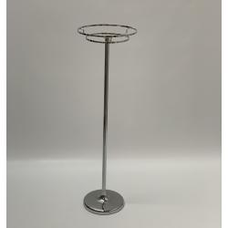 100cm Silver Floral Pedestal Centerpice Stand