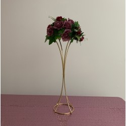 80cm Trumpet Shaped Metal Wedding Centerpiece Flower Stands