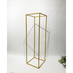 100cm Budget Rectangular Metal Centrepiece Stands