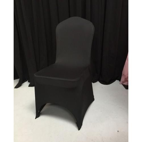 Premium Black Spandex Chair Covers