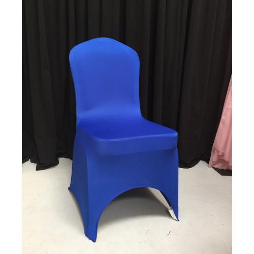 Premium Blue Spandex Lycra Chair Covers