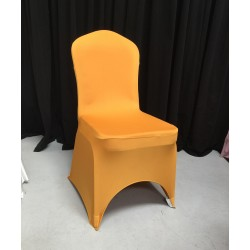 Premium Gold Spandex Lycra Chair Covers