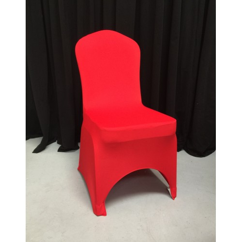 Premium Red Spandex Lycra Chair Covers