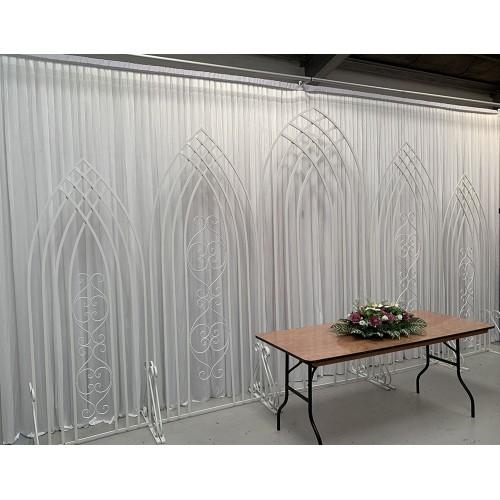 5 Pieces Decorative Backdrop Partition Panels