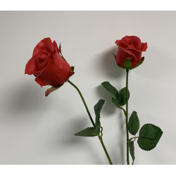 Real Touch Red Rose Stem