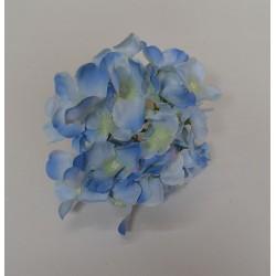 Blue Hydrangea Flower Heads - Pack of 10