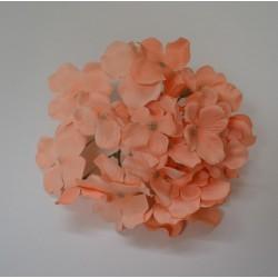Peach Hydrangea Flower Heads - Pack of 10